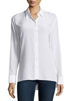 Rag & Bone Hayden Long-Sleeve Silk Blouse