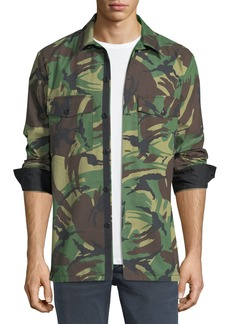 Rag & Bone Heath Camouflage Shirt Jacket