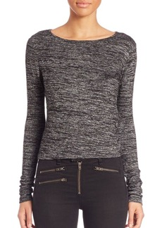 Rag & Bone Heather Long-Sleeve Tee