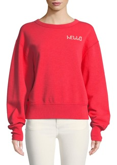 Rag & Bone Hello Terry Pullover Sweatshirt