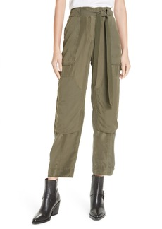 rag & bone Henri Crop Silk Pants