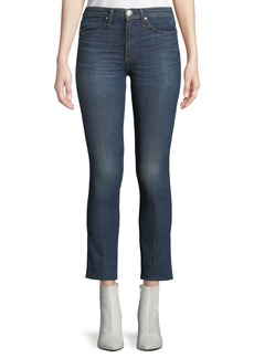 Rag & Bone High-Rise Cropped Cigarette Jeans