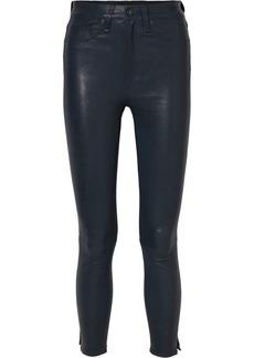 Rag & Bone High-rise Leather Skinny Pants