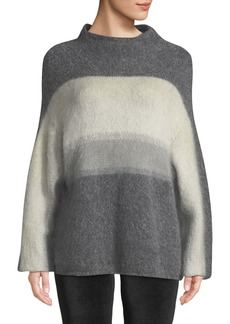 Rag & Bone Holland Fuzzy Mohair Ombre Pullover Sweater