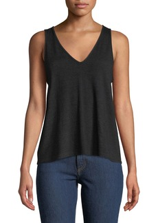 Rag & Bone Hudson V-Neck Sleeveless Jersey Tank