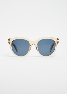 Rag & Bone Iconic Rounded Sunglasses