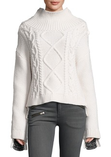 Rag & Bone Ida Two-Tone Cashmere Sweater