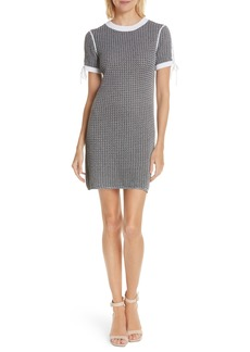 rag & bone Iona Lace-Up Sleeve Knit Dress