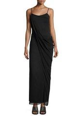 Rag & Bone Irina Sleeveless Stretch Chiffon Maxi Dress