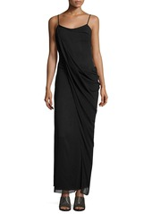 Rag & Bone Irina Sleeveless Stretch Chiffon Maxi Dress