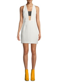Rag & Bone Izzy Sleeveless Cutout Mini Dress