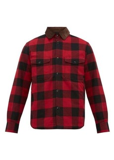Rag & Bone Jack padded checked cotton-flannel shirt