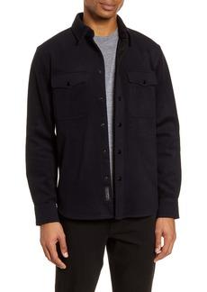 rag & bone Jack Slim Fit Wool Blend Shirt Jacket