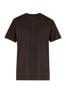Rag & Bone James speckled cotton T-shirt