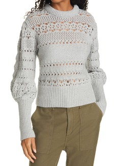 rag & bone Jane Open Stitch Sweater