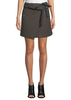Rag & Bone Jane Self-Tie A-Line Skirt