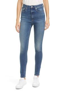 rag & bone Jane Super High Rise Skinny Jeans (Glade)