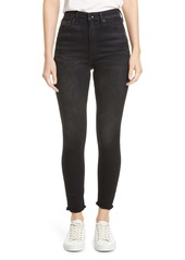 rag & bone Jane Super High Waist Ankle Skinny Jeans (Jardine)
