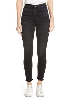 rag & bone Jane Super High Waist Ankle Skinny Jeans (Jardine)