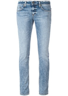 Rag & Bone /Jean acid wash skinny jeans - Blue