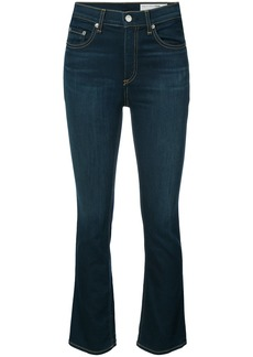 Rag & Bone /Jean cropped flared jeans - Blue