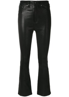 rag & bone cropped leather trousers