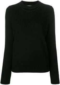 Rag & Bone /Jean cut-out detail jumper - Black