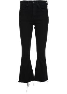 Rag & Bone /Jean flared cropped jeans - Black