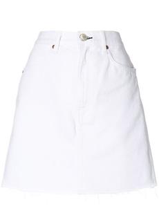 Rag & Bone /Jean short A-line skirt - White