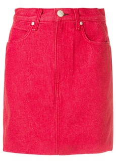 Rag & Bone /Jean short fitted skirt - Red