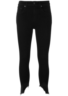 Rag & Bone /Jean stretch cropped skinny jeans - Black