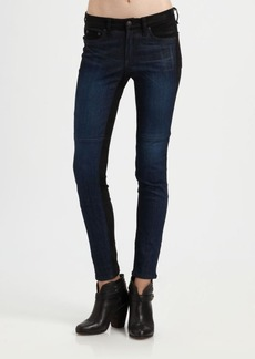 Rag & Bone Jekyll Leather Skinny Jeans