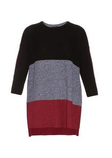 Rag & Bone Jena contrast-panel cotton sweater