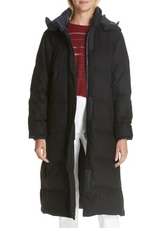 rag & bone Jenset Quilted Wool Blend Coat