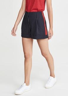 Rag & Bone Jess Pinstripe Shorts