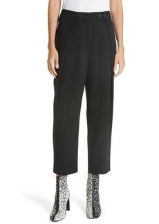 rag & bone Jessa Pleated Crop Pants