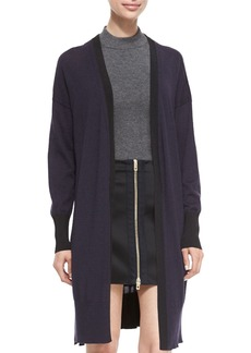 Rag & Bone Jessica Long Open-Front Cardigan