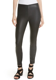 rag & bone Josephine Leather Front Skinny Pants