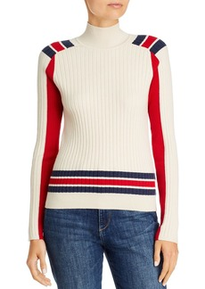 rag & bone Julee Striped & Color-Blocked Ribbed Sweater