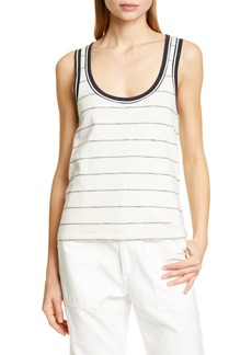 rag & bone Julien Stripe Tank