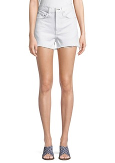 Rag & Bone Justine High-Rise Denim Shorts