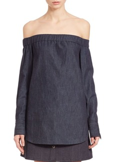 Rag & Bone Kacy Off-The-Shoulder Tunic