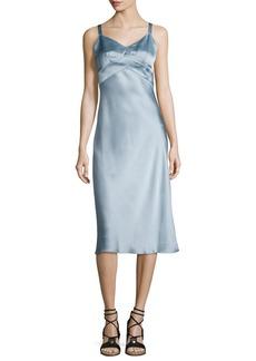 Rag & Bone Kaplan Satin Slip Dress