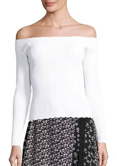 Rag & Bone Kari Off-The-Shoulder Pullover