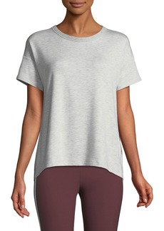 Rag & Bone Kat Split-Back Crewneck Tee