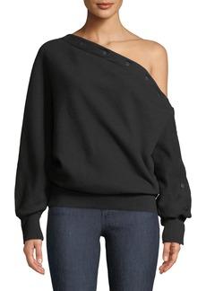 Rag & Bone Kate Modular One-Shoulder Pullover