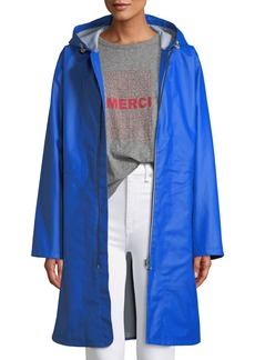 Kenna Classic Zip-Front Raincoat