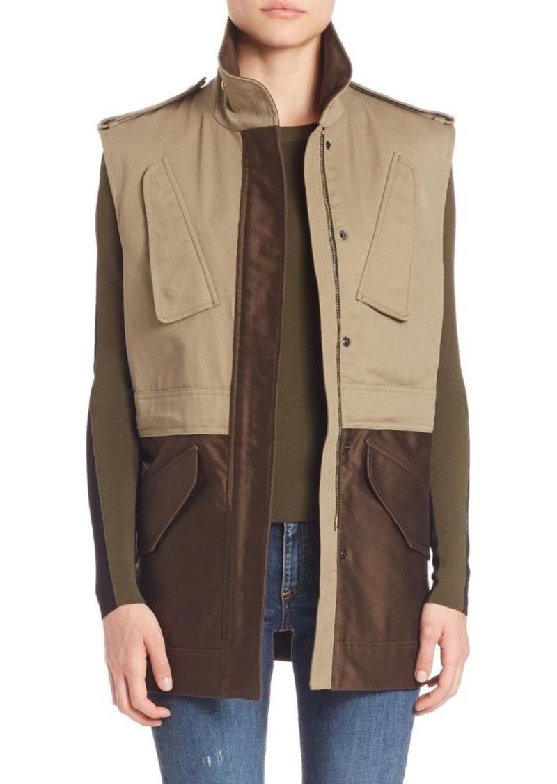 Rag & Bone Kinsley Cotton Vest