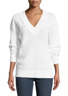 Rag & Bone Kyra V-Neck Long-Sleeve Knit Sweater