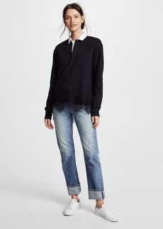 Rag & Bone Lace Rugby Shirt